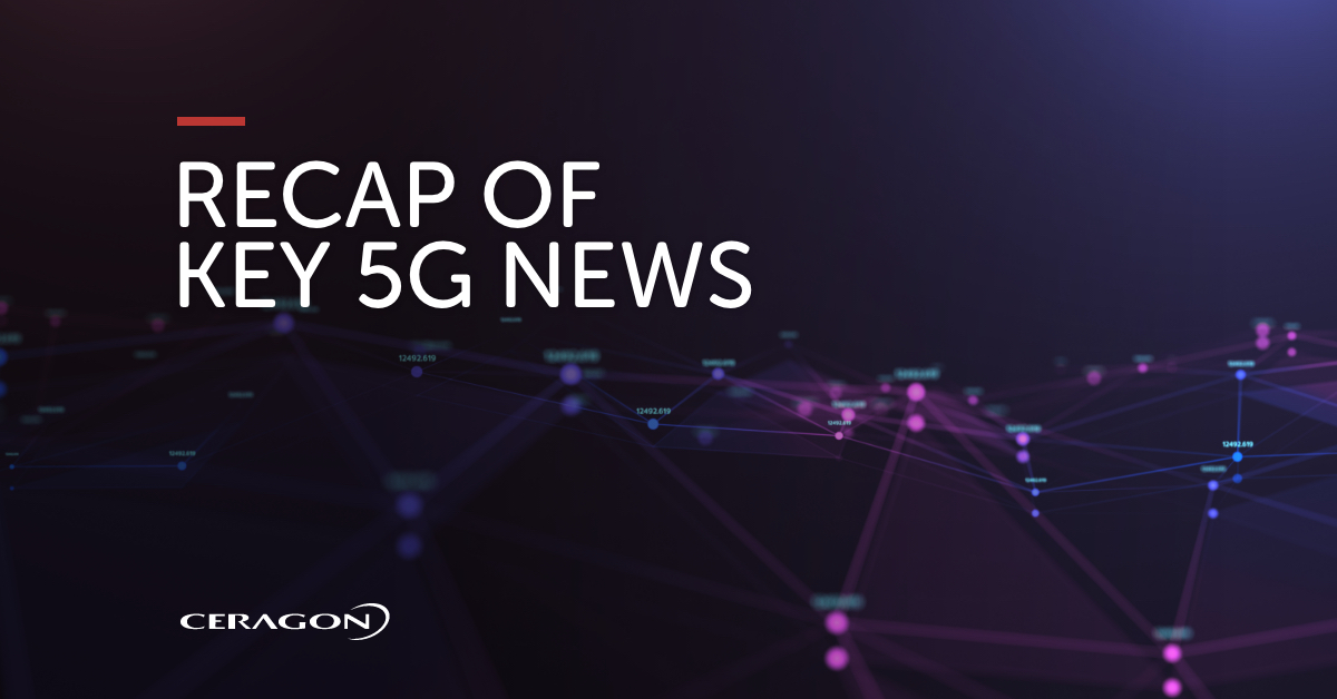 Recap of key 5G news March 2021