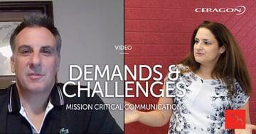 Demands & challenges - Mission Critical Communications