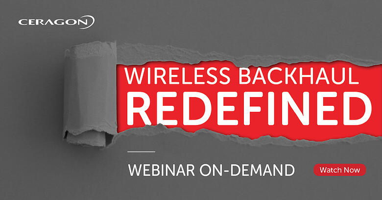 Webinar - Disaggregated Wireless Backhaul