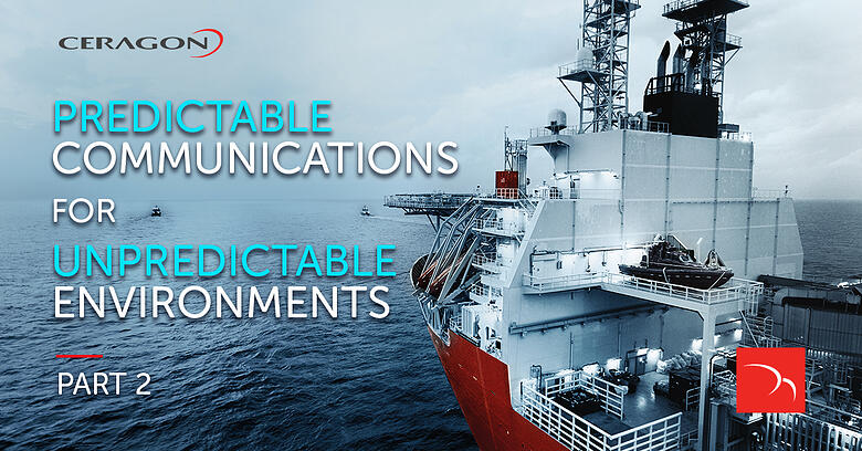 Connecting offshore assets with Ceragon's stabilized PointLink solutions