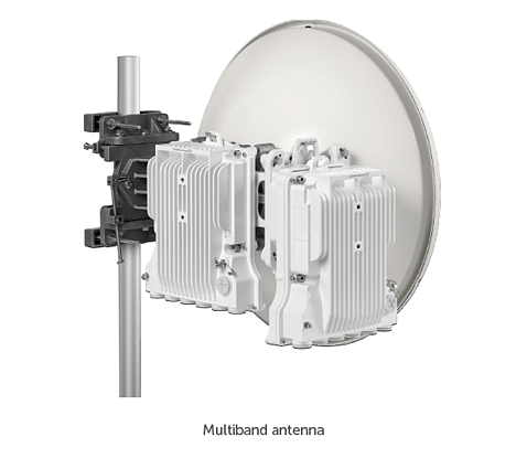 Multi band antena