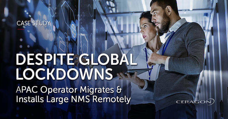 Case study: APAC operator migrates & installs large NMS remotely