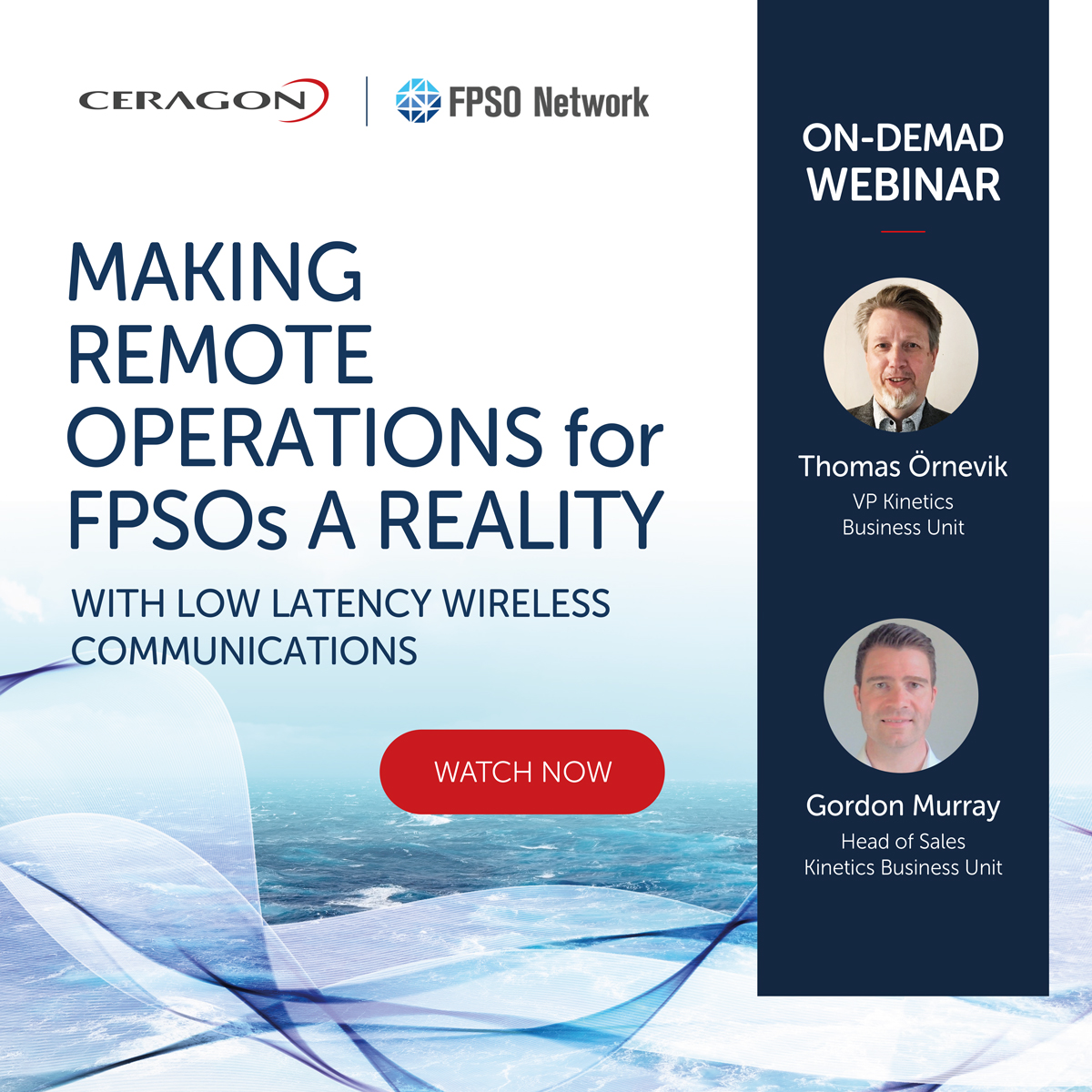 Making remote operations for FPSOs a reality with low latency wireless communications