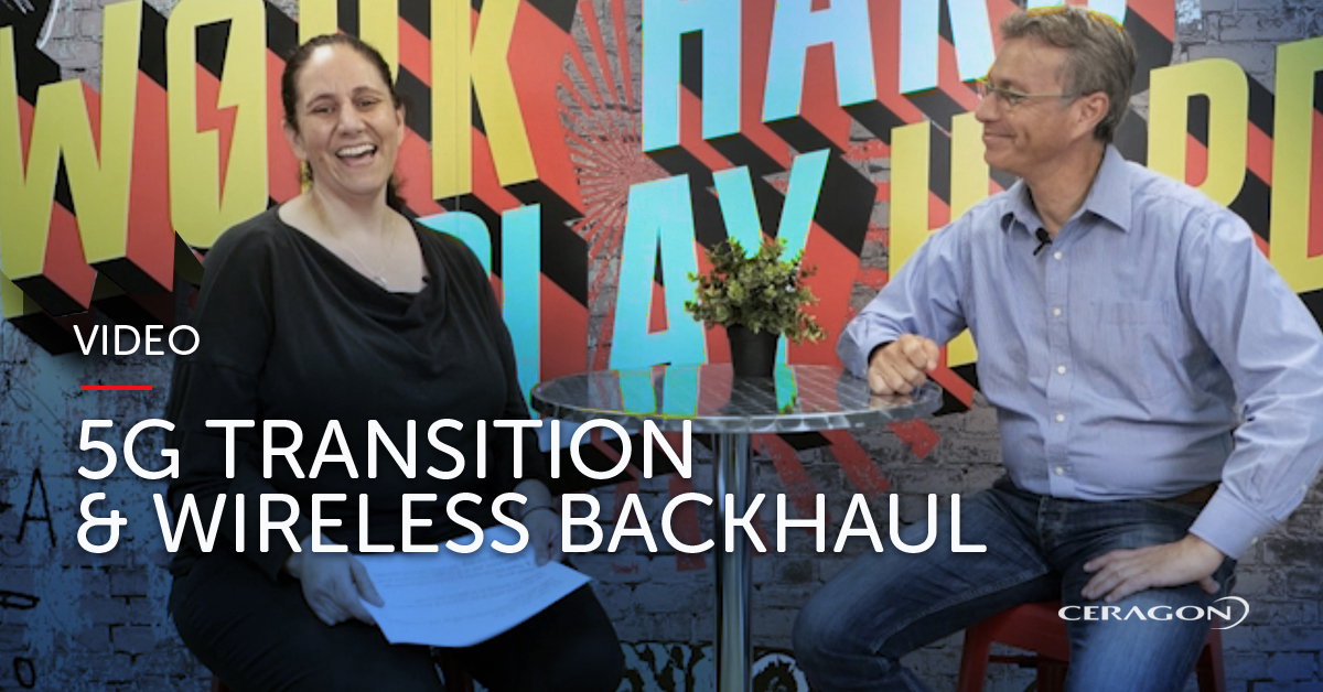 Why is wireless backhaul vital to 5G transitions?