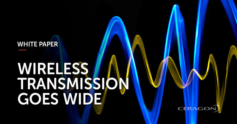 Wireless transmission goes wide