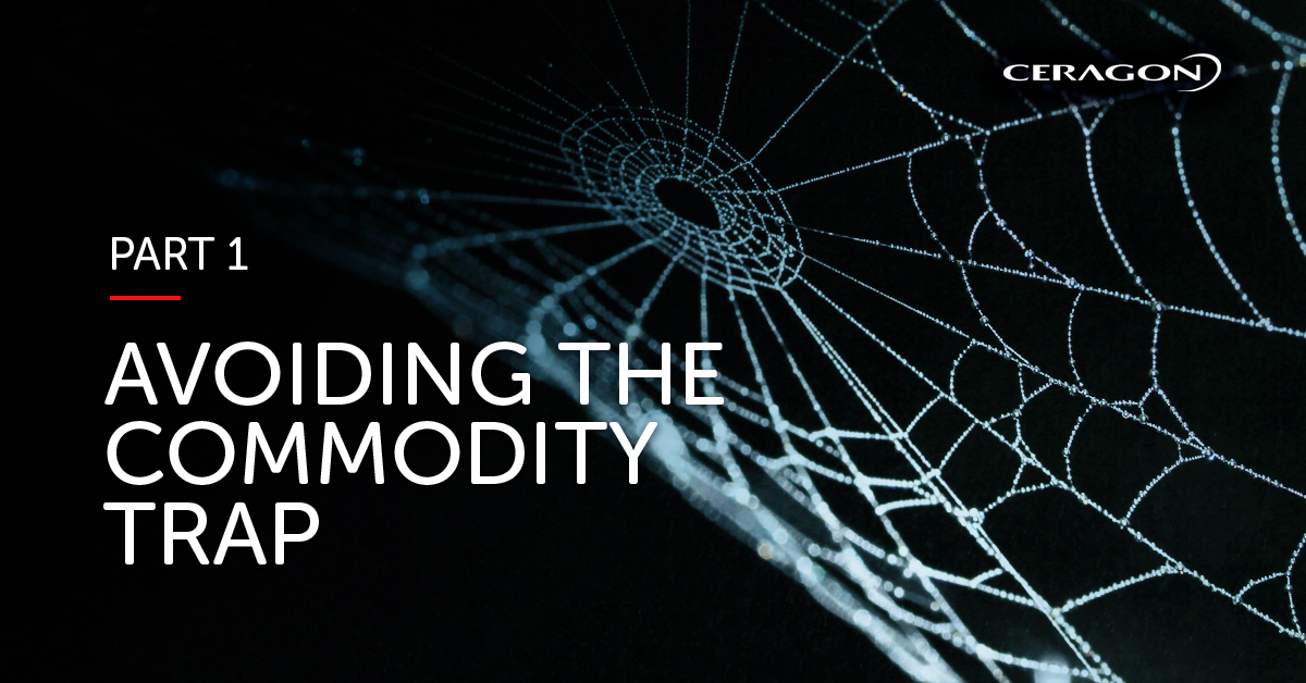 Avoiding the commodity trap - the value of connectivity