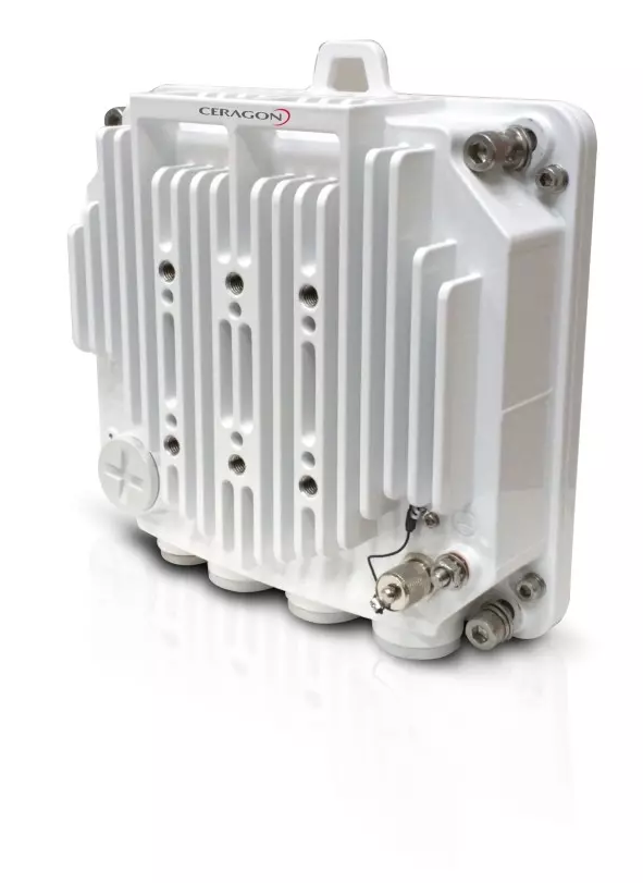 All-outdoor, compact, all-IP, E-band node