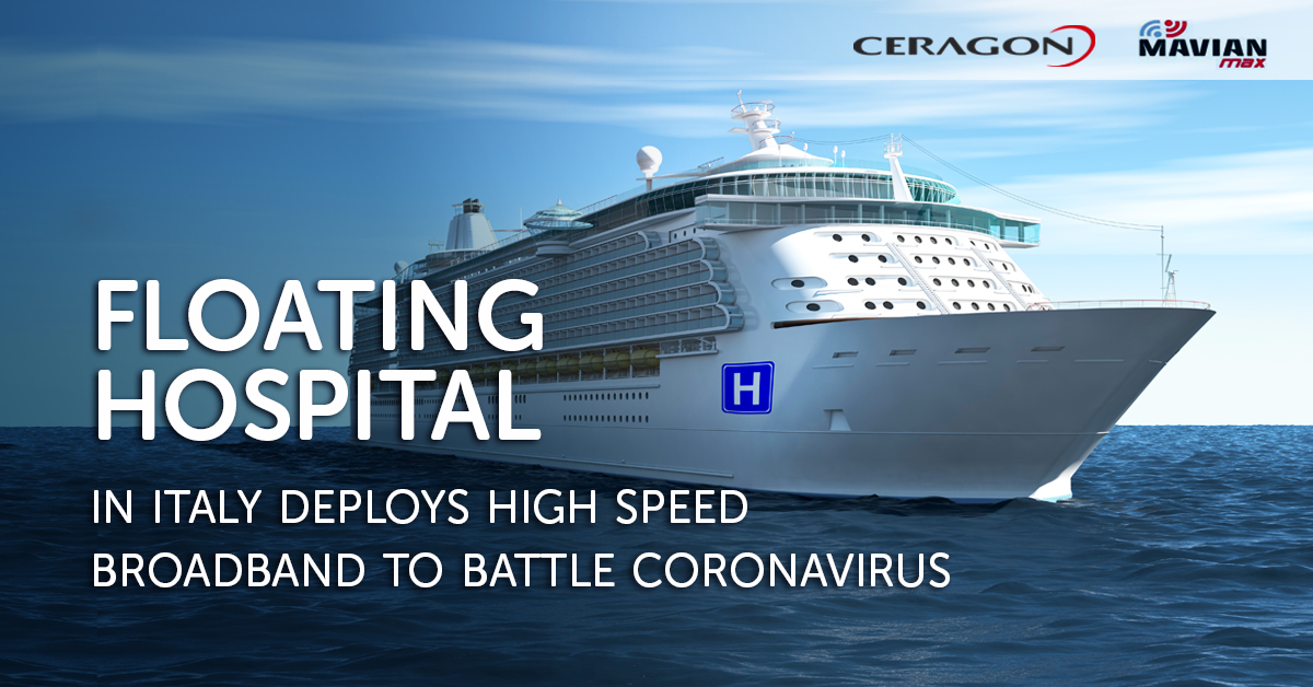 "First ""floating hospital"" in Italy deploys high-speed broadband to battle coronavirus"