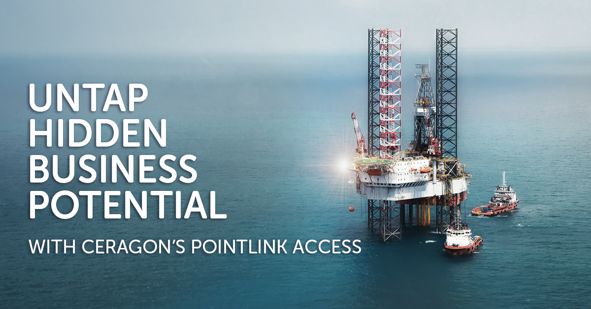 Offshore telecom operators and O&G companies untap hidden business potential with Ceragon's PointLink Access